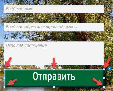 Форма обратной связи WordPress