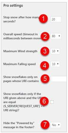 Как поставить снежинки